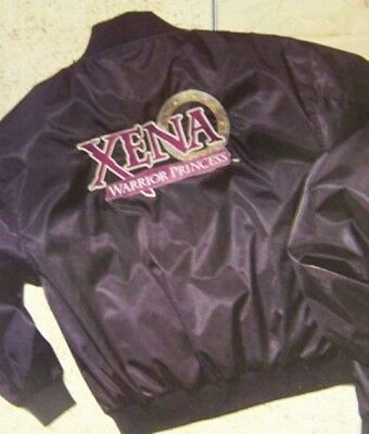 Xena - The Offical Xena Satin Crew Jacket - New - Size Large