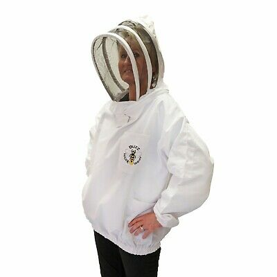 Buzz Beekeepers Bee Tunic with Fencing Veil- Small