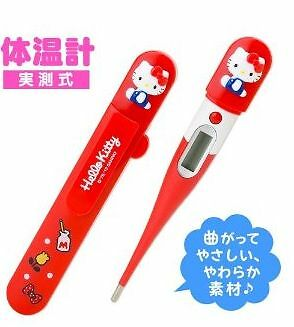 Hello Kitty Red Thermometer Japan Sanrio