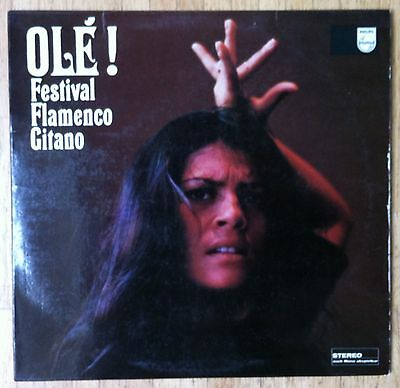 VARIOUS ARTISTS Olé ! Festival Flamenco Gitano LP/GER