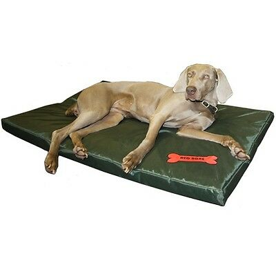 Waterproof Dog Bed - 2 Sizes - Large Washable Cover Pet Cat Mat Pad Cushion