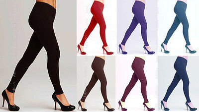 Winter Warm Womens Full Length Cotton Leggings 6-26