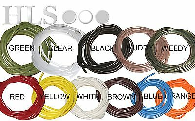 SILICONE TUBING - 2m, multi purpose tube, aquarium, airline, carp rigs, crafts