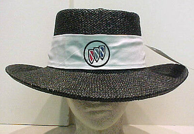 Buick Tri Shield Gm Licensed Embroidered  Straw Hat