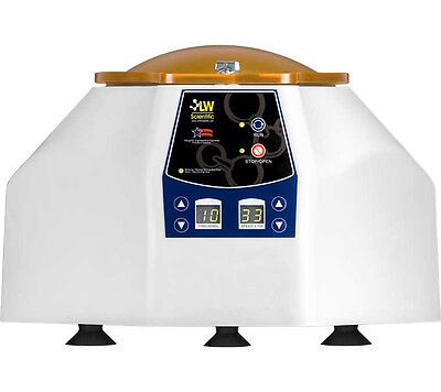 NEW ! LW Scientific Universal Centrifuge, 8x15ml, 800-3500rpm Variable Speed