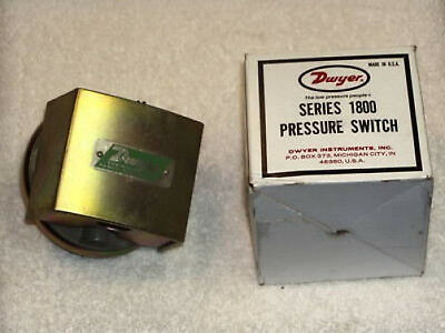 "Dwyer 1823-5-2-S Series 1800 Pressure Switch +1.5"" to +5.0""  NIB"