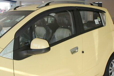 For Chevrolet Spark 2010 - 2015 Wind Deflectors Set 5 Door (4 pieces)