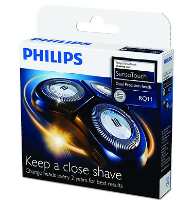 Philips RQ11 SensoTouch Replacement Mens Shaver Heads for RQ1150 RQ1160 RQ1180