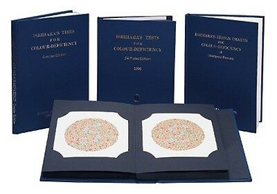 Ishihara Color Deficiency Test Chart Book 14 Plate