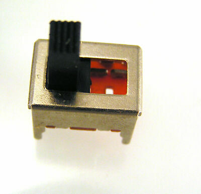 SS13 Min Slide PCB Switch DP3T 3 position 13mm x 10mm x 7mm 10 pieces OM549