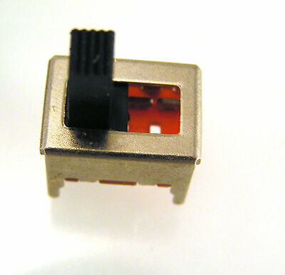 SS13 Mini Slide PCB Switch DP3T 3 position 13mm x 10mm x 7mm OM0549
