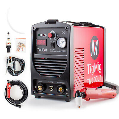Taglio Plasma Inverter Tigmig Tm 60 Cut Hf Taglio 16 Mm Completa Pronta All'uso