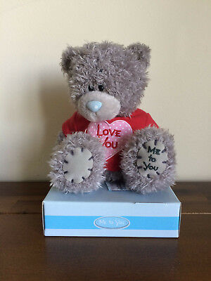 Me To You Tatty Teddy Bear 'Love You' Red T-Shirt Valentines Gift
