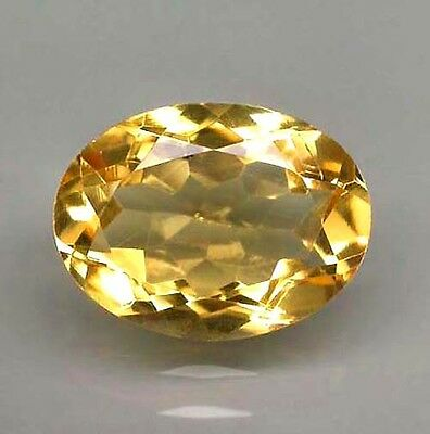 1CITRIN 9x7 OVAL (VVS) GOLD-GELB! 2,0Ct!!!