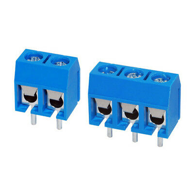 5x 5.08mm PCB Screw Terminal Block 2 or 3 way - 1st Class UK Post