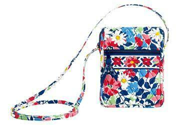 Vera Bradley MINI HIPSTER Baroque Summr Cottage Very Berry Berry Paisley Suzanni