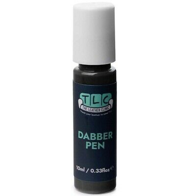 DARK GREY Leather Paint Touch Up for Sofa Car Shoes Handbag & more.
