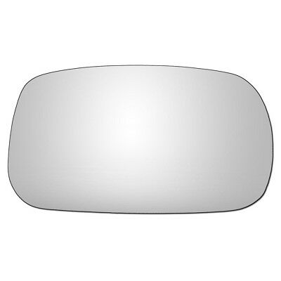 Driver Side CONVEX WING DOOR MIRROR GLASS Nissan Micra K11 1993-2003 Stick On