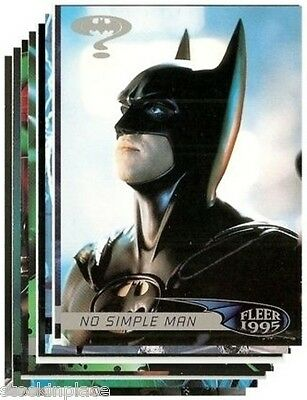 BATMAN Fleer Ultra BUY ONE CARD and get NINE FREE! (Your Choice)   Cards 91-119
