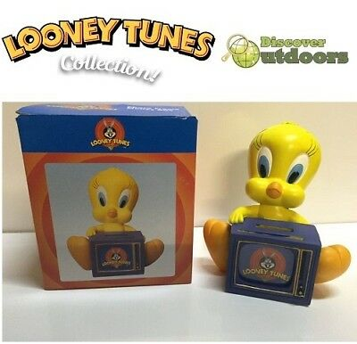NEW Looney Tunes COLLECTIBLE Tweety Bird Photo Frame ORNAMENT Coin Money Box