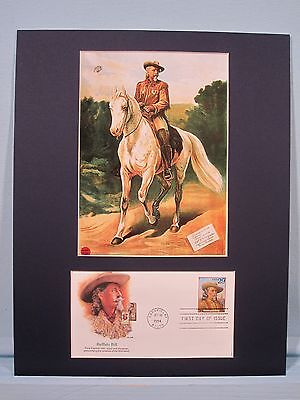 Buffalo Bill Cody and his Wild West Show & First day Cover