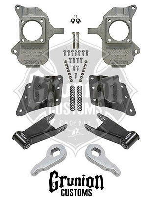 Chevy Silverado GMC Sierra 1500 HD & 2500 3/5 Lowering Kit McGaughys 33084