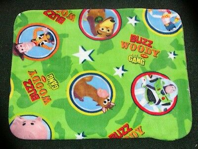 Fleece Standard (Twin) Pillow Cover - Woody And Friends From Toy Story