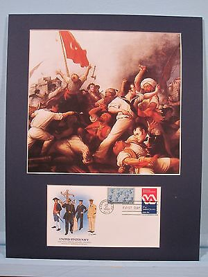 Stephen Decater & the War against the Barbary Pirates & First Day Cover