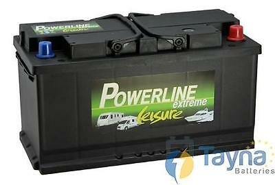 Pair Of Low Height 12V Quality Leisure Battery 4Yr Gtee