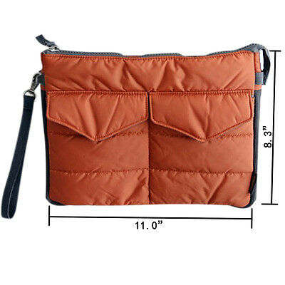 Easy Carry Padded Case for iPad/mini, Galaxy and 10-inch Tablet Devices - Orange
