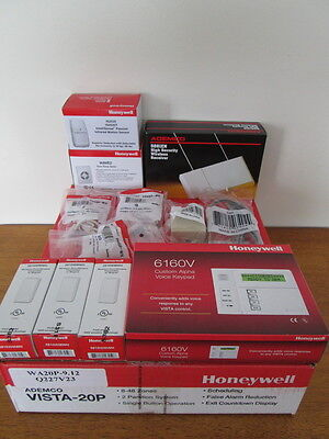 Honeywell Vista 20P 6160V Alpha Keypad 5881ENM 5816WMWH Wireless IS3035 + More