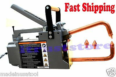 "Electric Portable Spot Welder 120 Volt Welds 1/8"" Stock Brand New"