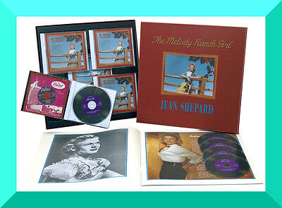 Jean Shepard ,The Melody Ranch Girl ( Box 5CD + Booklet )