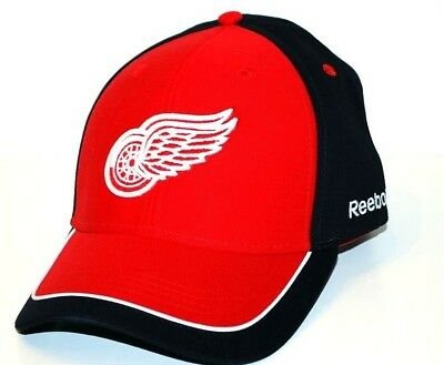 buy popular bbe93 7f006 Detroit Red Wings Reebok NHL One Size Fits Most Adjustable Hockey Cap Hat