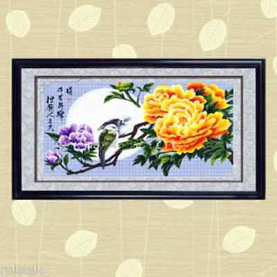 """Blooming Flower"" Big Size 11CT Full counted cross stitch kit (Box)--150cm*67cm"