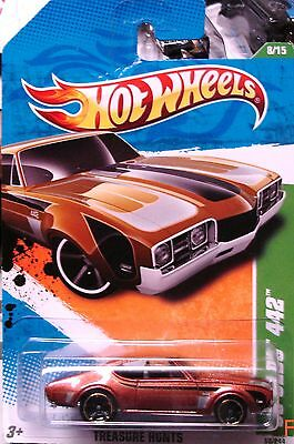 2011 Hot Wheels Treasure Hunt 1968 OLDS 442 Save On Combine Shipping