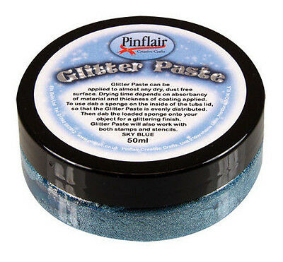 Pinflair Glitter Paste - Sky Blue
