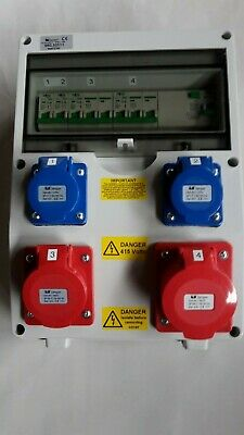 3 phase16A&32A 5 Pin RCD CEE Industrial Socket +240V16A 3pin.Distribution board.