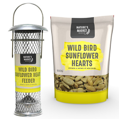 Bird Sunflower Seed Feed & Feeder Deals - Choose A Discounted Bundle