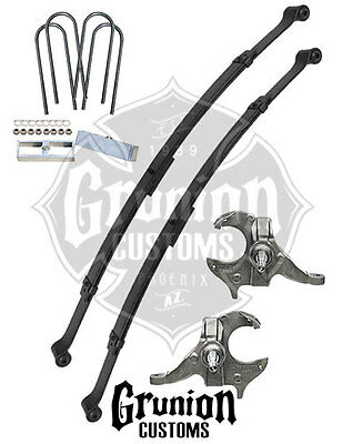 mcgaughys chevy s10 gmc sonoma 2 3 drop kit ext cab 33107 122 89 Chevy S10 Air Bag Suspension mcgaughy s chevrolet s10 gmc s15 2 4 lowering