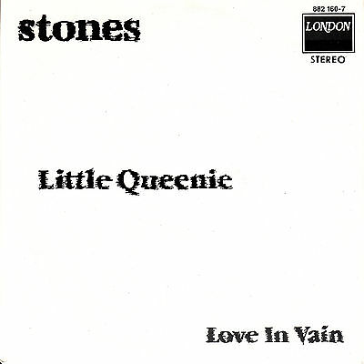 """ROLLING STONES  Little Queenie & Love In Vain  SOLID SLEEVE 7"""" 45 rpm record NEW"""