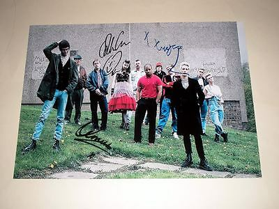 "This Is England 86 Cast X3 Pp Signed 12""x8"" Poster"