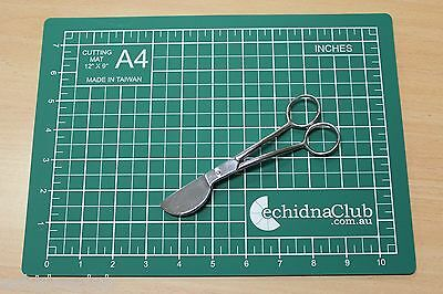 Duckbill Applique Scissors....plus A4 Cutting Mat