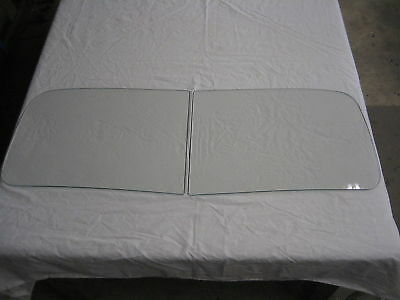 1947 1948 1949 1950 1951 1952 1953  Chevy Truck Windshield Glass New 2 Pc Clear