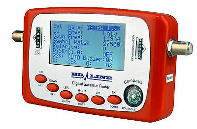 Hd-Line Sf-500 Digital Satfinder  Pointeur Satellite - Reglage Parabole
