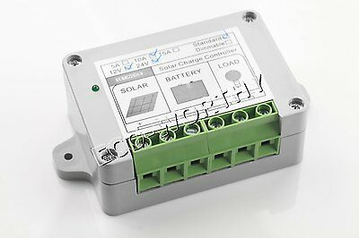 10A solar charge controller 100% waterproof, pv system accessory, solar power