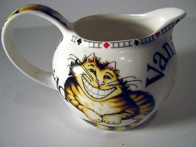 Alice in Wonderland Creamer Paul Cardew Cheshire Cat GRIN Mad Hatter Tea Party