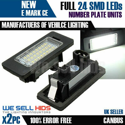 LED Number Plate Light Lamp BMW  CANBUS ERROR FREE E82 E88 CHECK CONNECTION