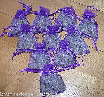 Lavender Bags Aromatic Drawer Wardrobe Air Fresh  Moth Repel Calming  3/5/7/10's