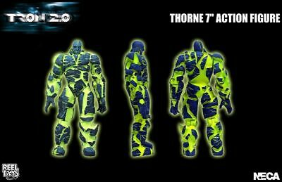"Tron 2.0 - 7"" Thorne Action Figure with Display Stand - NECA"